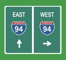 DETROIT: INTERSTATE 94 EAST | WEST by S DOT SLAUGHTER