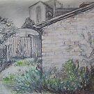 Back Yard (Highgate) by Thea T