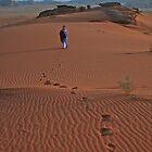 Walking Wadi Rum by KerryPurnell