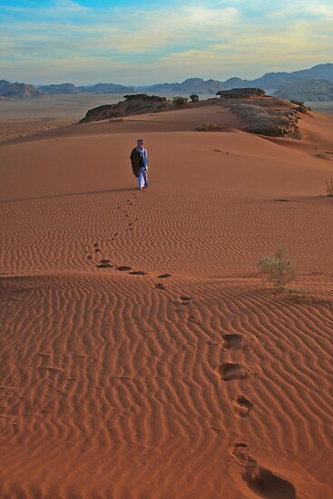 Walking Wadi Rum by KerryPurnell