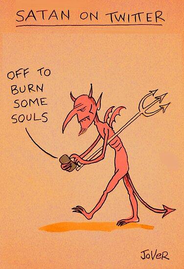 satans tweet by Loui  Jover