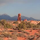 Red pillar by zumi