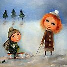 Winter Walk by Monica Blatton