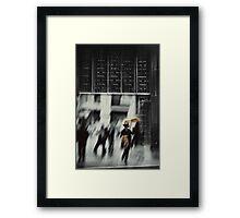 341 Framed Print