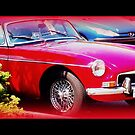 Red MGB by ©The Creative  Minds