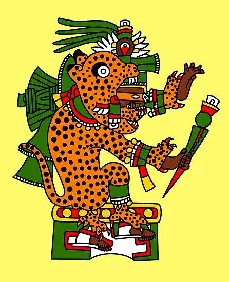 Jaguar Warrior - Codex Borgia by Gwendal