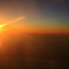 What sunset looks like at 36 000ft by MarkySA