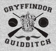 Gryffindor Quidditch (Black) by Lumos ϟ Nox