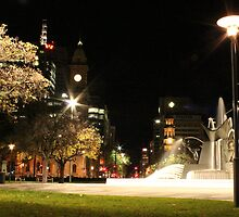 Water Fountain At Victoria Square - ADELAIDE SA by Tanmay Kale