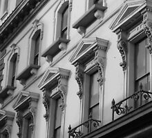 Cardiff street building by MatthewMPhotos