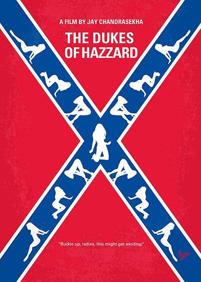 No108 My The Dukes of Hazzard minimal movie poster by Chungkong