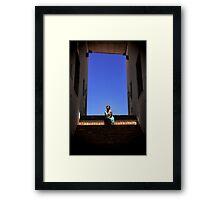 Light Blue Framed Print