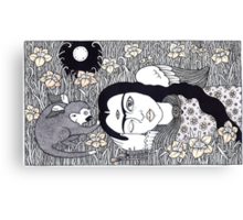 Amando Frida Canvas Print