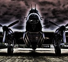 Ghostly Just Jane Bomb Doors Open - HDR by Colin J Williams Photography