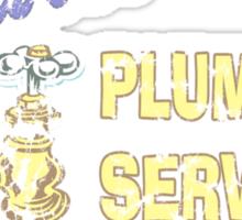 Mario Brothers Plumbing Sticker