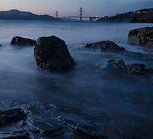 Golden Gate Bridge Turns 75 by Jon Rendell