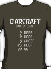 Barcraft Build Order T-Shirt