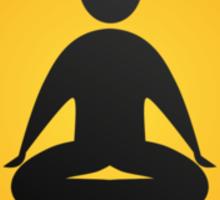 zazen zen sign Sticker