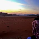 Sunset over Jordan by KerryPurnell