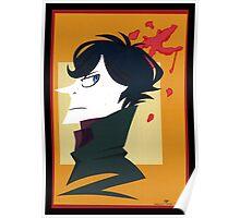 Sherlock Holmes Paper Portrait Poster