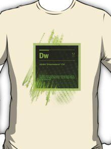 DreamWeaver CS6 Splash Screen T-Shirt