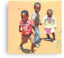 Children of Soweto Canvas Print