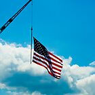 Flag pole on a Crane by NewLayer