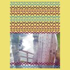 AZTEC 'Door Into Summer'_T-Shirt 1-2 by Daniel Bevis