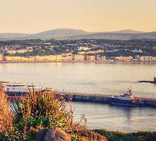 Sunrise over Douglas Bay by Sammie Caine