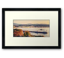 Sunrise over Douglas Bay Framed Print