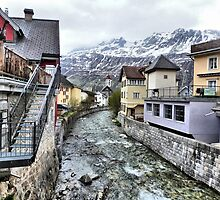 Andermatt-Switzerland. by Lilian Marshall