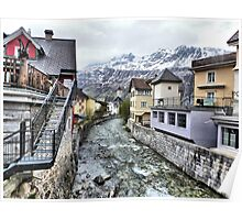 Andermatt-Switzerland. Poster