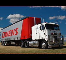 Cabover Kenworth by Keith Hawley