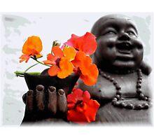 Lucky Buddah Photographic Print