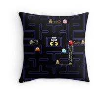 Who you gonna call, Pac? Throw Pillow
