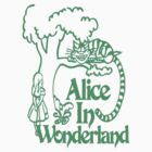 Alice in wonderland- Green by AmitArt