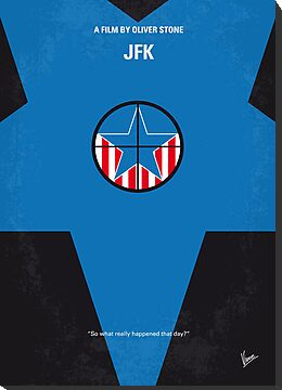 No111 My JFK minimal movie poster by Chungkong
