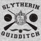 Slytherin Quidditch (Black) by Lumos ϟ Nox