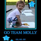 Go Team Molly Go!! by Carol Clifford