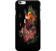 Colorful Racehorse in Typography iPhone Case/Skin