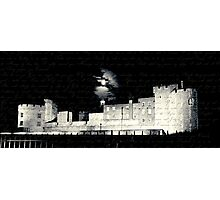 Tower of London, Full Moon, Letter from Anne Boleyn Photographic Print