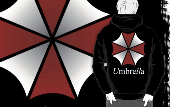 Umbrella Corp Logo w/Text by sergalbutt
