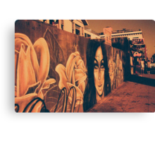 Street Art in California Canvas Print