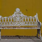 Madalena Wrought Iron Bench (View Larger) by phil decocco