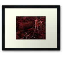 My Hearts a Mess Framed Print