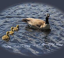 Happy Father's Day To A Wonderful Dad by Vickie Emms