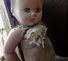 creepy baby doll by ashley hutchinson