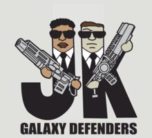 Galaxy Defenders by DetourShirts