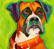 Penny, painting by Christina Sweet