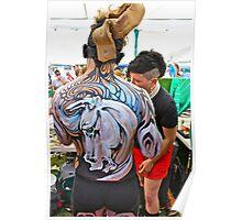 Punked Stallion Poster